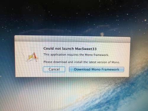 Sweet 33 - Mac Installation / Instructions / Help